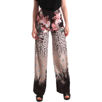 Vêtements Femme Pantalons fluides / Sarouels Fracomina FR19SM014 Noir