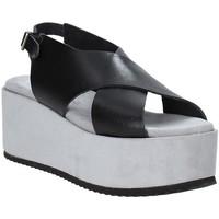 Chaussures Femme Sandales et Nu-pieds Pregunta IBH6653 Noir