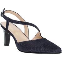 Chaussures Femme Escarpins Soffice Sogno E9360 Bleu