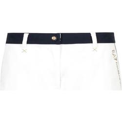 Vêtements Femme Shorts / Bermudas Ea7 Emporio Armani 3GTS02 TN29Z Blanc