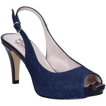 Chaussures Femme Sandales et Nu-pieds Grace Shoes 738I003 Bleu