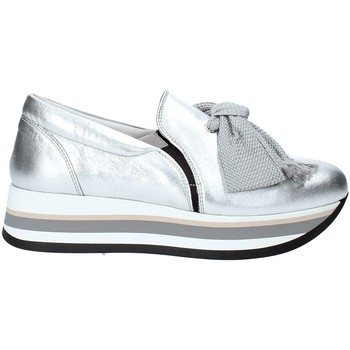 Chaussures Femme Slip ons Triver Flight 232-09 Argent