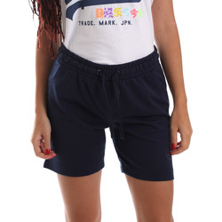 Vêtements Femme Shorts / Bermudas Key Up 5F59G 0001 Bleu