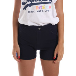 Vêtements Femme Shorts / Bermudas Key Up 5L79G 0001 Bleu