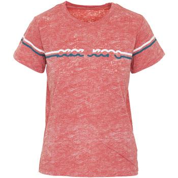 Vêtements Femme T-shirts manches courtes Pepe jeans PL504077 Orange