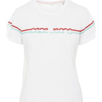 Vêtements Femme T-shirts manches courtes Pepe jeans PL504077 Blanc