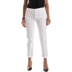 Vêtements Femme Jeans slim Byblos Blu 2WJ0011 TE0128 Blanc