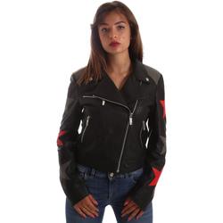 Vêtements Femme Vestes en cuir / synthétiques Byblos Blu 2WS0002 LE0007 Noir