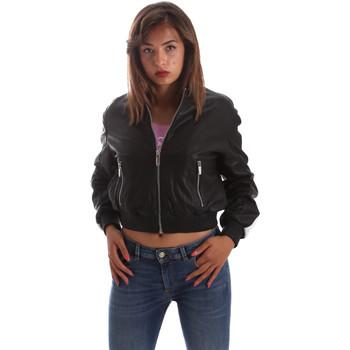 Vêtements Femme Vestes en cuir / synthétiques Byblos Blu 2WS0004 LE0009 Noir