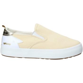 Chaussures Femme Slip ons Gas GAW910105 Beige