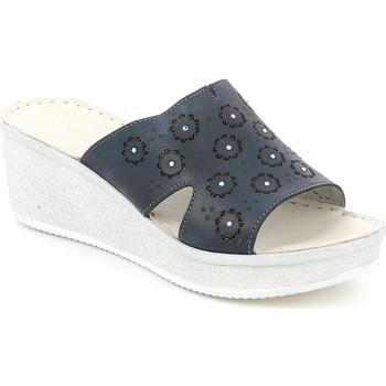 Chaussures Femme Mules Grunland CI1561 Bleu