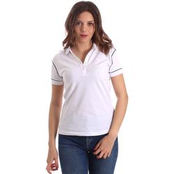 Vêtements Femme Polos manches courtes La Martina NWP002 PK001 Blanc