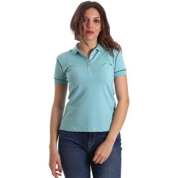 Vêtements Femme Polos manches courtes La Martina NWP002 PK001 Bleu