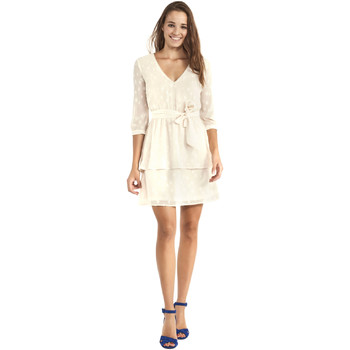 Vêtements Femme Robes courtes Gaudi 911BD15005 Beige