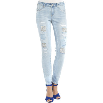 Vêtements Femme Jeans boyfriend Gaudi 911BD26013 Bleu