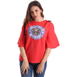 Vêtements Femme T-shirts manches courtes Gaudi 911BD64037 Rouge