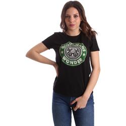 Vêtements Femme T-shirts manches courtes Gaudi 911BD64038 Noir