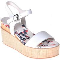 Chaussures Femme Sandales et Nu-pieds Lumberjack SW40006 001 B01 Blanc