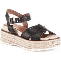 Chaussures Femme Sandales et Nu-pieds Lumberjack SW43706 004 B01 Noir