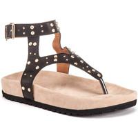 Chaussures Femme Sandales et Nu-pieds Lumberjack SW57506 002 Q12 Noir