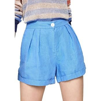 Vêtements Femme Shorts / Bermudas Pepe jeans PL800839 Bleu