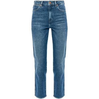 Vêtements Femme Jeans droit Wrangler W238TN Bleu