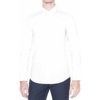 Vêtements Homme Chemises manches longues Antony Morato MMSL00375 FA450001 Blanc
