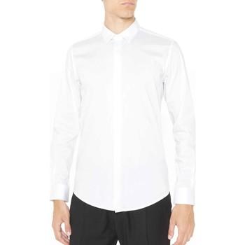 Vêtements Homme Chemises manches longues Antony Morato MMSL00293 FA450001 Blanc
