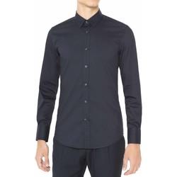 Vêtements Homme Chemises manches longues Antony Morato MMSL00375 FA450001 Bleu