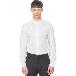 Vêtements Homme Chemises manches longues Antony Morato MMSL00604 FA440031 Blanc