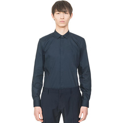 Vêtements Homme Chemises manches longues Antony Morato MMSL00293 FA450001 Bleu