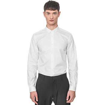 Vêtements Homme Chemises manches longues Antony Morato MMSL00596 FA400072 Blanc