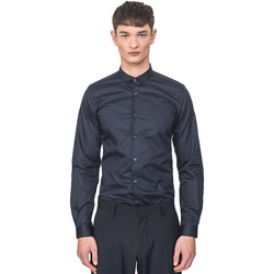 Vêtements Homme Chemises manches longues Antony Morato MMSL00596 FA400072 Bleu