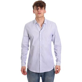Vêtements Homme Chemises manches longues Antony Morato MMSL00596 FA420090 Blanc