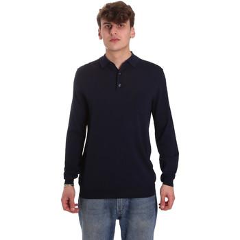 Vêtements Homme Polos manches longues Antony Morato MMSW01065 YA500057 Bleu