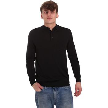 Vêtements Homme Polos manches longues Antony Morato MMSW01065 YA500057 Noir