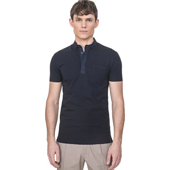 Vêtements Homme Polos manches courtes Antony Morato MMKS01741 FA120022 Bleu