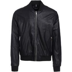 Vêtements Homme Vestes en cuir / synthétiques Antony Morato MMCO00616 FA210045 Noir