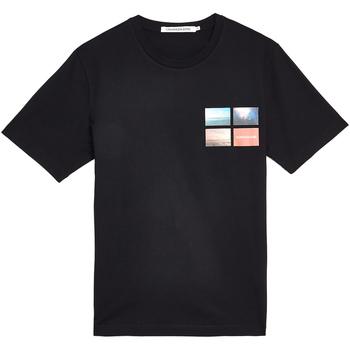 Vêtements Homme T-shirts manches courtes Calvin Klein Jeans J30J312834 Noir