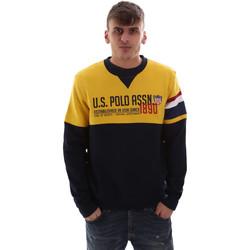 Vêtements Homme Sweats U.S Polo Assn. 52522 49151 Jaune