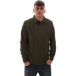 Vêtements Homme Polos manches longues U.S Polo Assn. 52416 47773 Vert