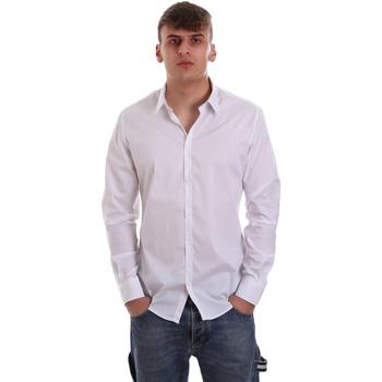 Vêtements Homme Chemises manches longues Gaudi 921FU45014 Blanc