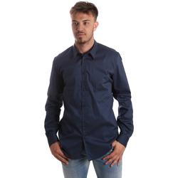 Vêtements Homme Chemises manches longues Gaudi 921FU45014 Bleu