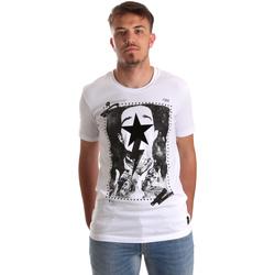 Vêtements Homme T-shirts manches courtes Gaudi 921FU64002 Blanc