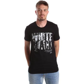 Vêtements Homme T-shirts manches courtes Gaudi 921FU64006 Noir