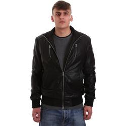 Vêtements Homme Vestes en cuir / synthétiques Gaudi 921BU38001 Noir