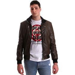 Vêtements Homme Vestes en cuir / synthétiques Gaudi 921BU38001 Marron