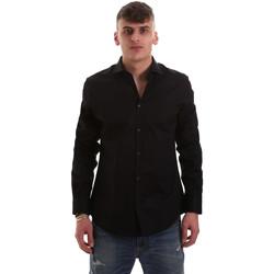 Vêtements Homme Chemises manches longues Gaudi 921BU45001 Noir