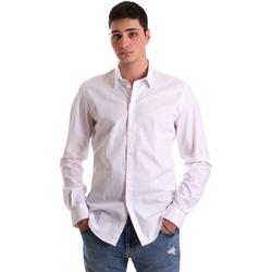 Vêtements Homme Chemises manches longues Gaudi 921BU45001 Blanc