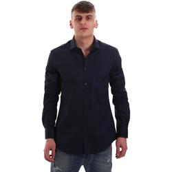 Vêtements Homme Chemises manches longues Gaudi 921BU45001 Bleu
